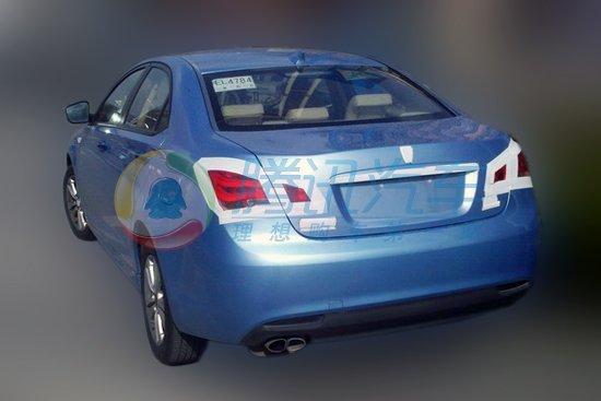 荣威550混合动力车型-荣威550混动版将亮相上海车展