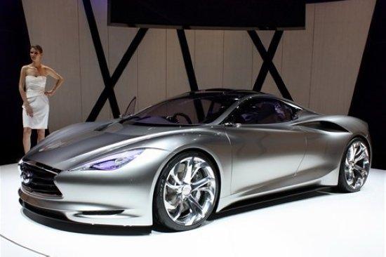 一些新消息,英菲尼迪计划推出一款旗舰三厢轿车和豪华轿跑车高清图片