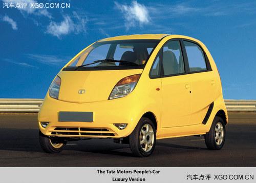 全世界最便宜汽车 2014款塔塔Nano亮相高清图片