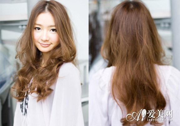 中分卷发发型-日系卷发发型成潮流 轻松打造显萌态图片