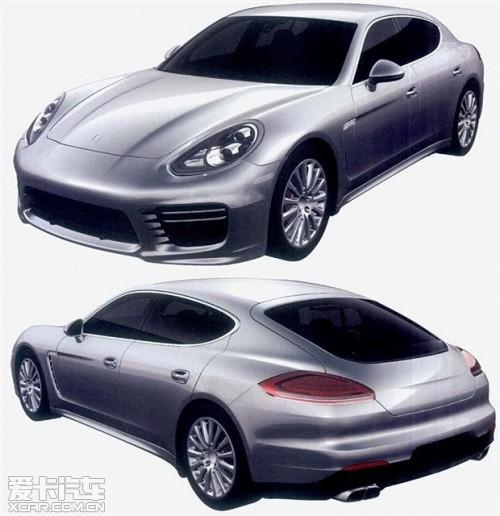 在今年的上海车展上,保时捷发布了新款panamera车型,近日,高清图片