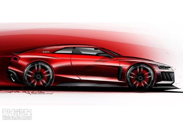 新奥迪quattro概念车设计图
