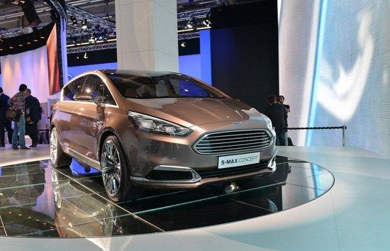 新车最大看点:新一代s-max的预览版   福特s-max概念车高清图片