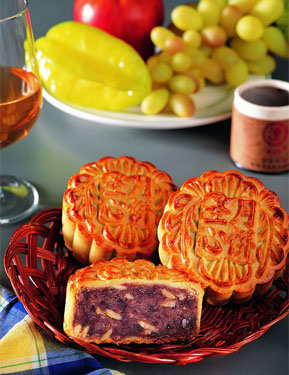 中秋美食 首推月饼  -我市举办 我们的节日 中秋 主题活动