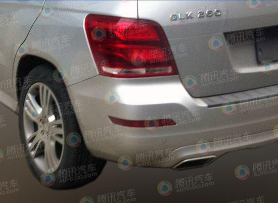 北京奔驰glk260无伪谍照曝光 高清图片