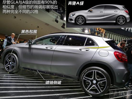 奔驰最小SUV GLA 亮相广州车展高清图片