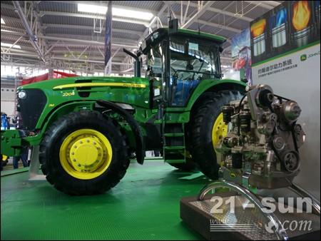 美国约翰迪尔公司参加中国国际农机展 亮点纷呈 高清图片