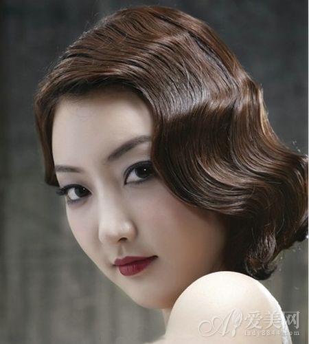 俏丽新娘短发发型 打造简约浪漫气质图片