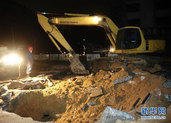在山东省青岛经济技术开发区中石化输油