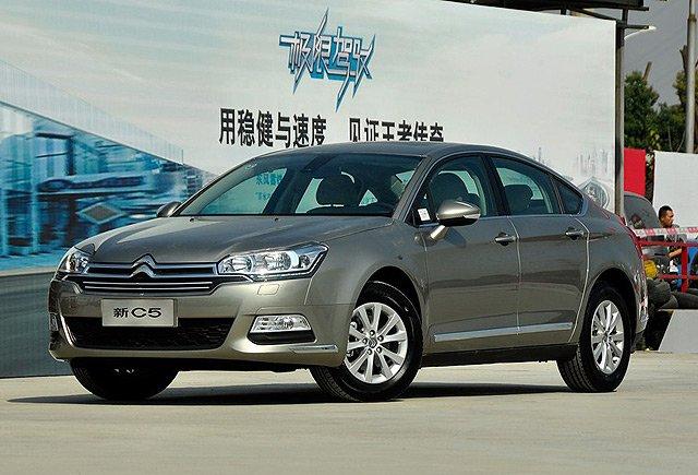 新款东风雪铁龙C5车型-换代东风雪铁龙C5将搭1.6T引擎高清图片