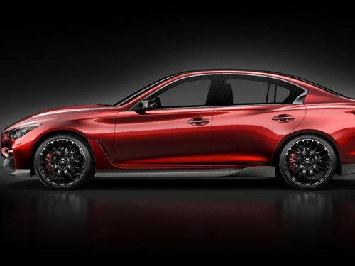 英菲尼迪新款q50概念车全图放出 迎车展