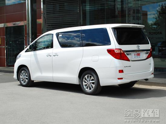 进口丰田埃尔法月底将有现车到店高清图片