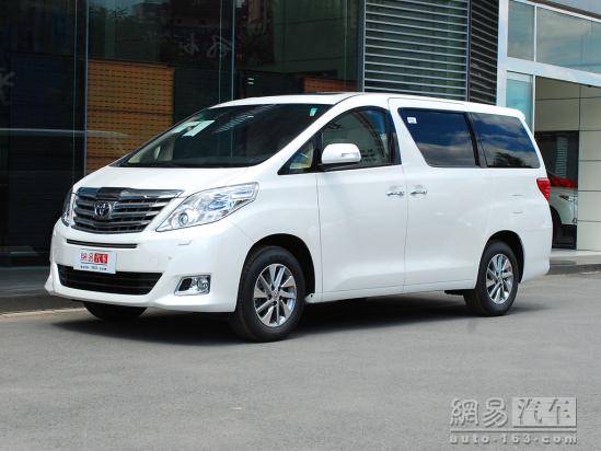 [杭州]进口丰田埃尔法月底将有现车到店高清图片