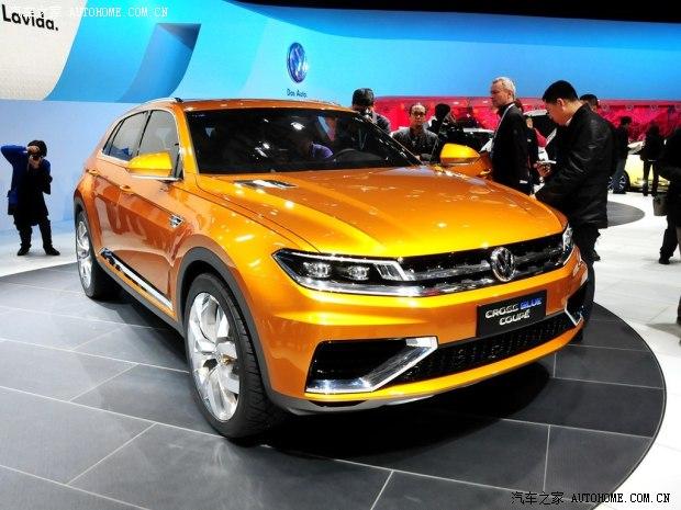 大众两款SUV概念车将于北美车展发布 大众,suv,概念车,之前,高清图片
