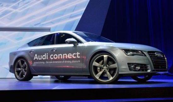 图为奥迪A7无人驾驶概念车-汽车科技成重头戏 CES或成为最重要车展高清图片