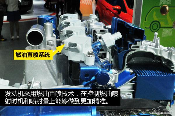 来将搭载翼虎 福特1.5T发动机技术解析高清图片