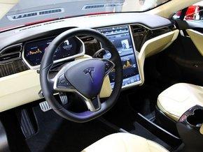 2014款特斯拉电动汽车 节能环保超优惠售高清图片