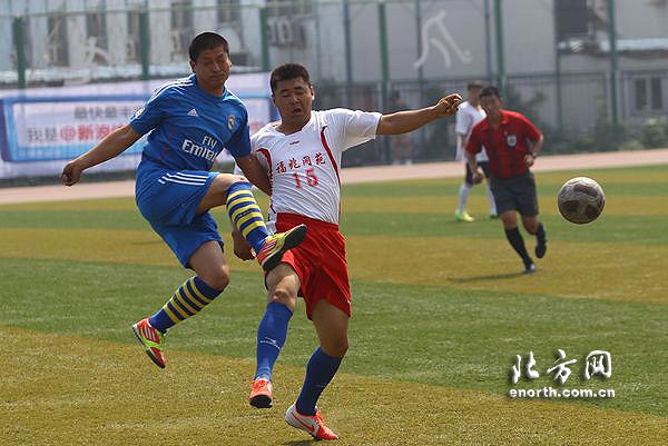 2014年中国足球协会业余联赛天津赛区比赛鸣