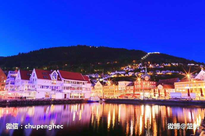 美丽的峡湾是挪威风景的灵魂