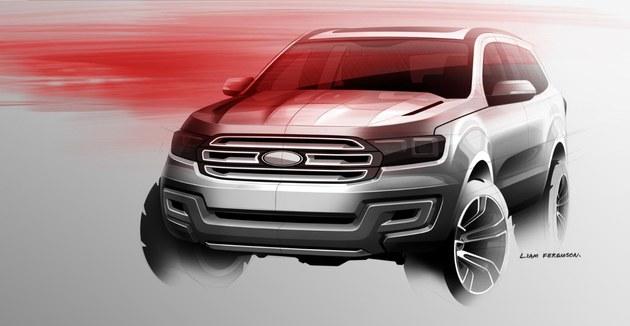 福特汽车打造全新全球SUV车型Everest高清图片