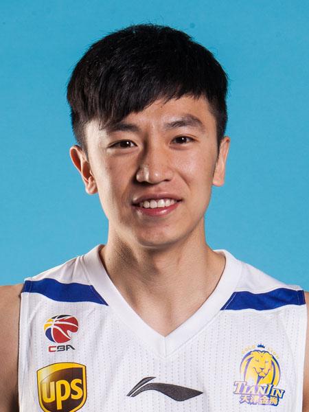 天津荣钢男篮队员--6号冯岩
