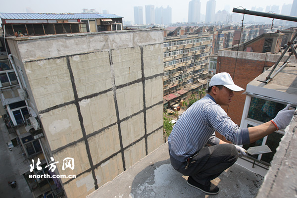 天津市1340个旧楼区改造完工 后续整改有序进行