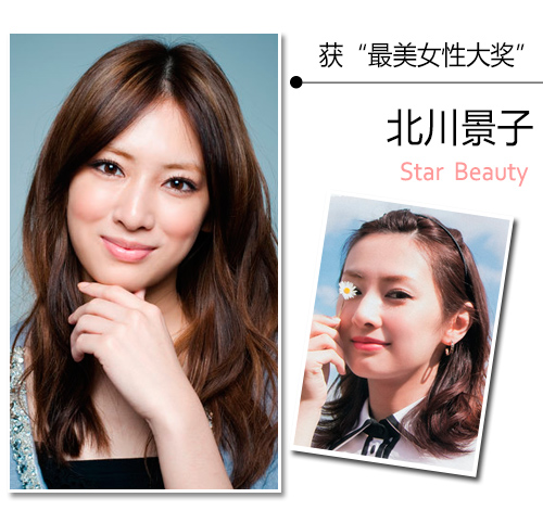 最美素颜北川景子 曝日本女星真实肤质