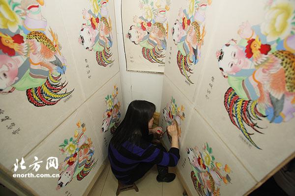 杨柳青年画第六代传承人:年画描绘盛世中国梦