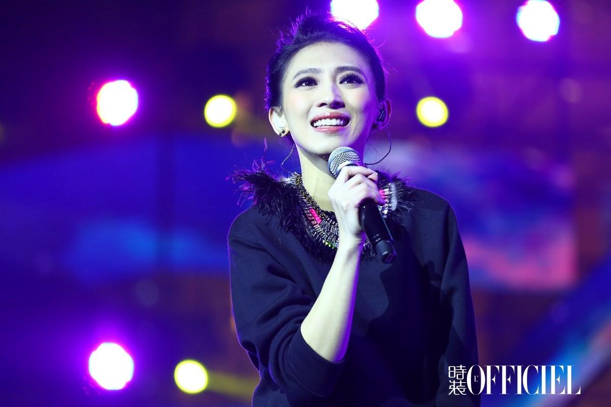 前晚歌手戴佩妮在武汉举办演唱会2018/10/16戴佩妮