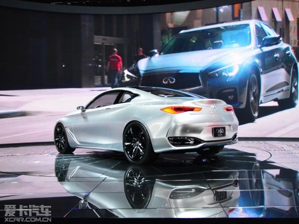 英菲尼迪q60将推敞篷版车型 2017年问世高清图片