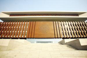 南开大学新图书馆亮相 馆内宽敞通透