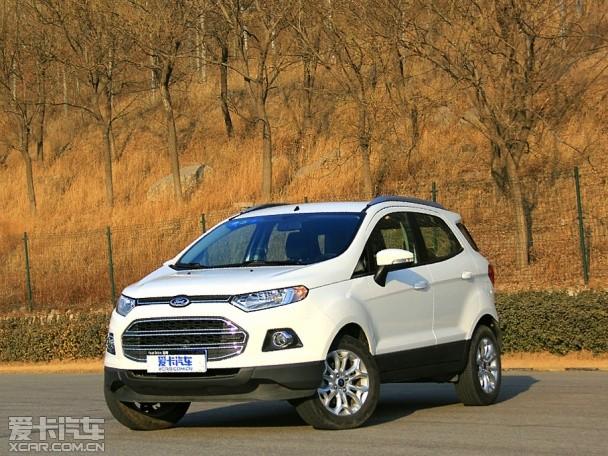 十万元小型SUV福特翼搏车辆品质测试高清图片