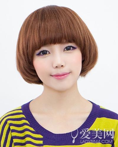 韩国可爱女生发型清新甜美少女风-时尚呼吸-北方网