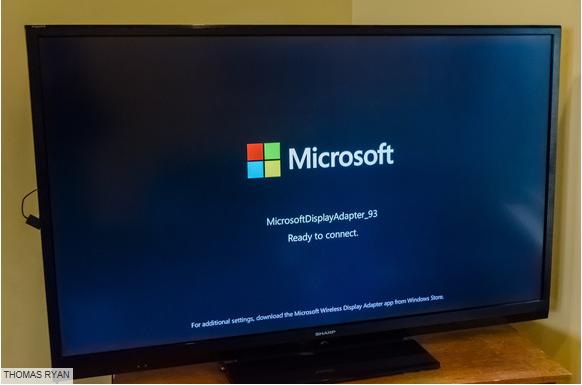 如何用Miracast把移动设备无线投射到电视机
