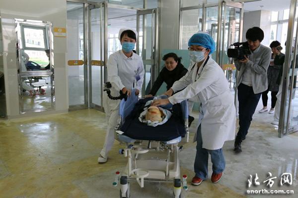 员赴市第二儿童医院开展急救演练