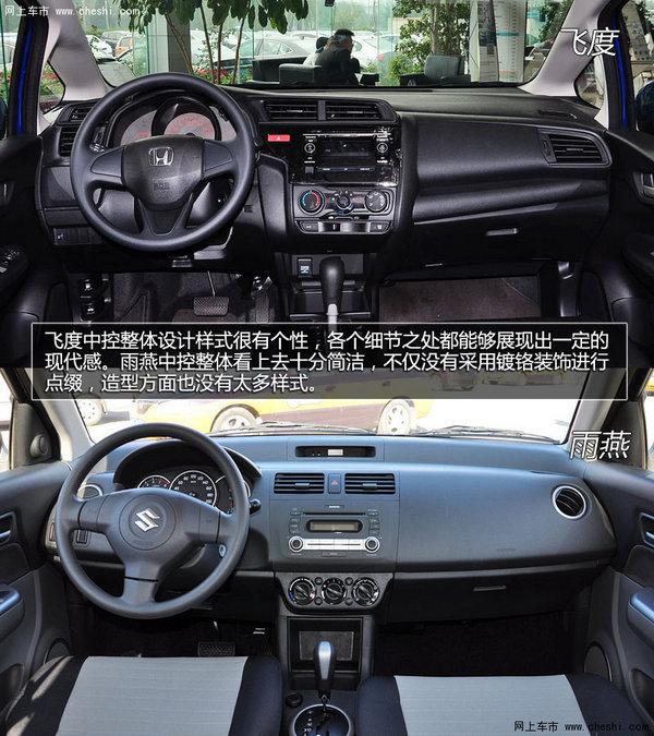 日系小车谁更强 本田飞度对比铃木雨燕高清图片