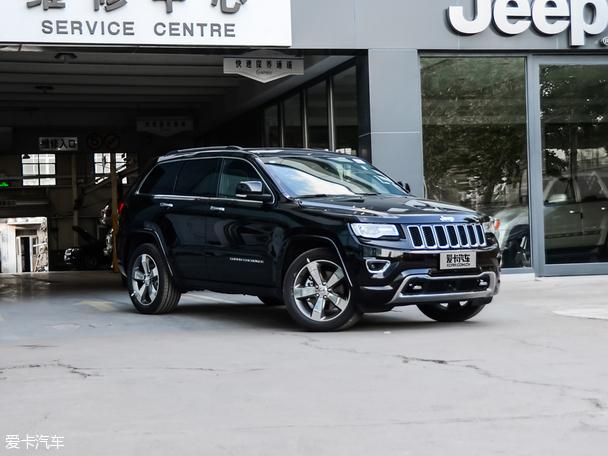 Jeep2016款大切诺基-新款JEEP大切诺基谍照 或将于明年发布高清图片