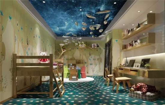 """儿童房要有""""星空""""才完美图片"""