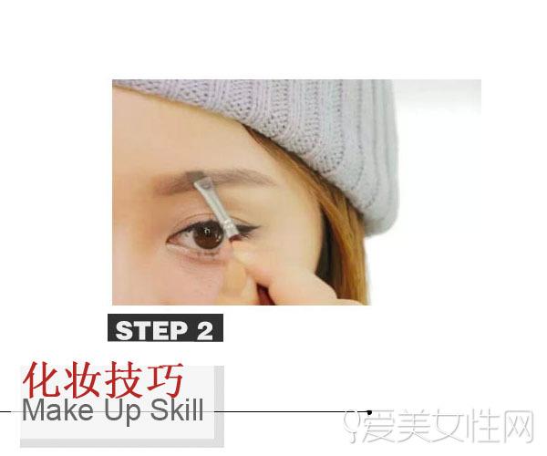 眉毛的画法步骤图 画出适合自己的眉形