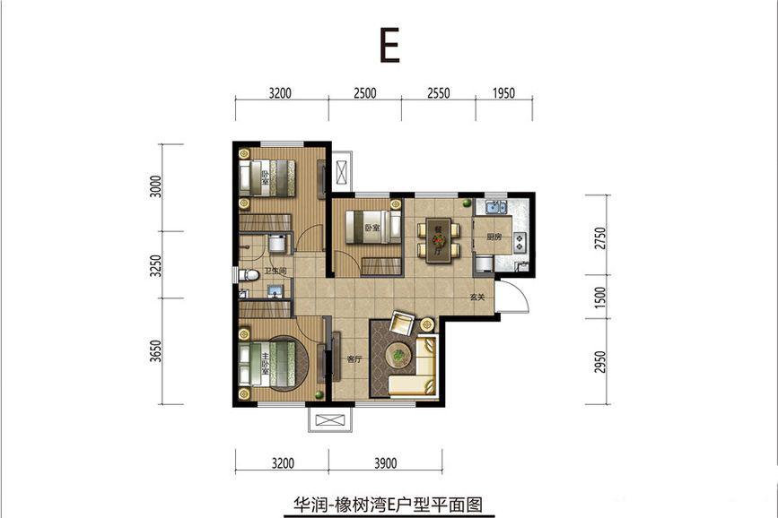 建築面積69平米戶A型圖