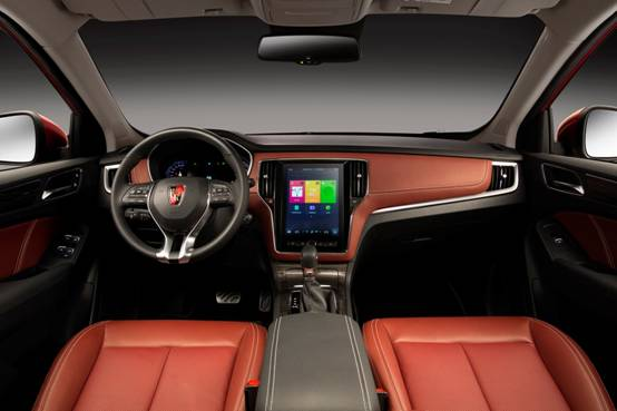 荣威RX5大屏科技将于6月揭晓 内饰堪比20万合资车高清图片