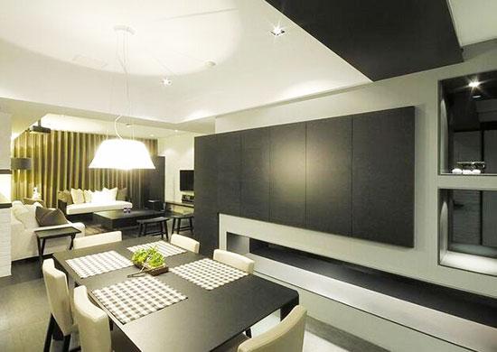 高品位独居之所 132平现代简约空间