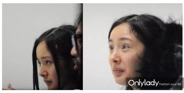 刘涛在机场素颜照片