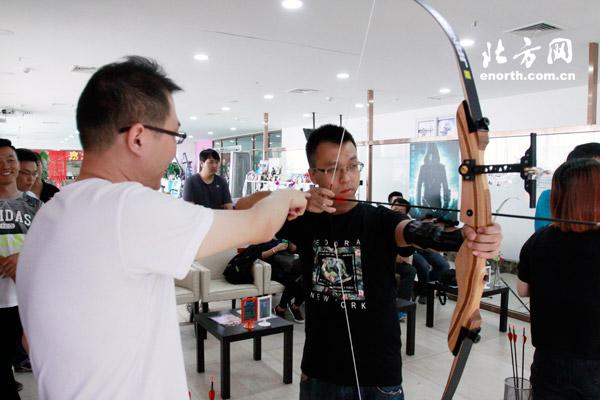 体育俱乐部运动射箭体验直径搭弓射箭变绿箭网友1.5米风水球配泵图片