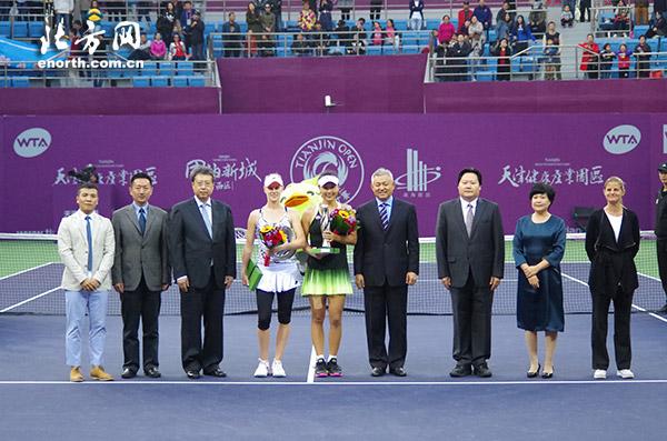 WTA天津公开赛彭帅女单封后