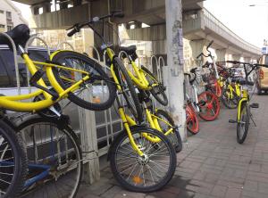 共享单车乱象该管管了 天津市正在研究制定细则