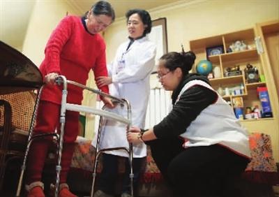 让失能老年人的居家照护更专业