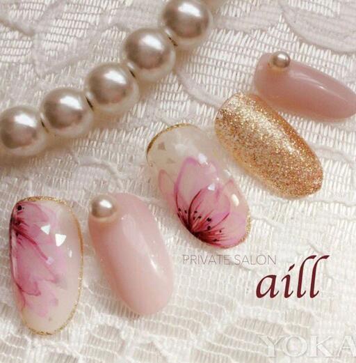 在指尖上唯美盛开 日本大热的樱花美甲款式