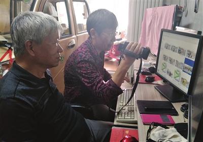 河东区春华街道拍客夫妻用镜头记录爱心图片