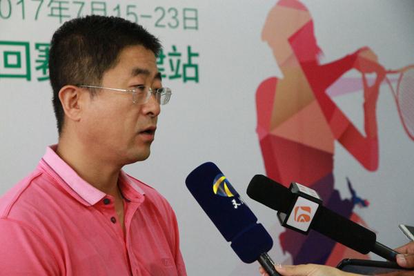 2017年ITF国际女子网球赛天津站开幕 74人参赛